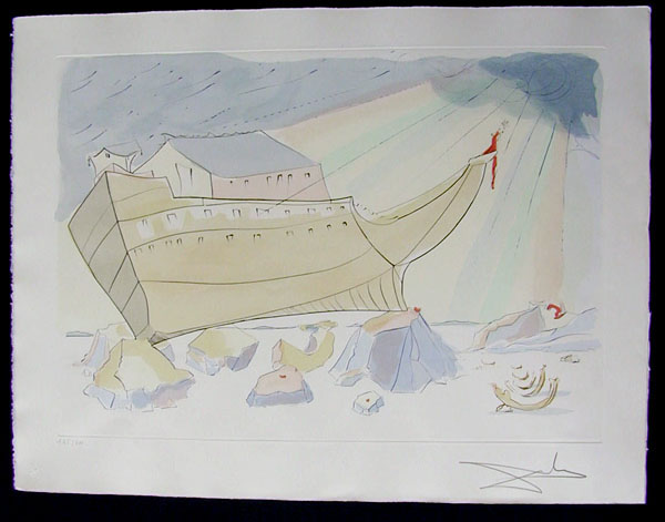 Salvador Dali - Our Historical Heritage - Noah's Arc