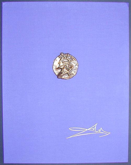 Salvador Dali - Our Historical Heritage - Portfolio Case w/medal