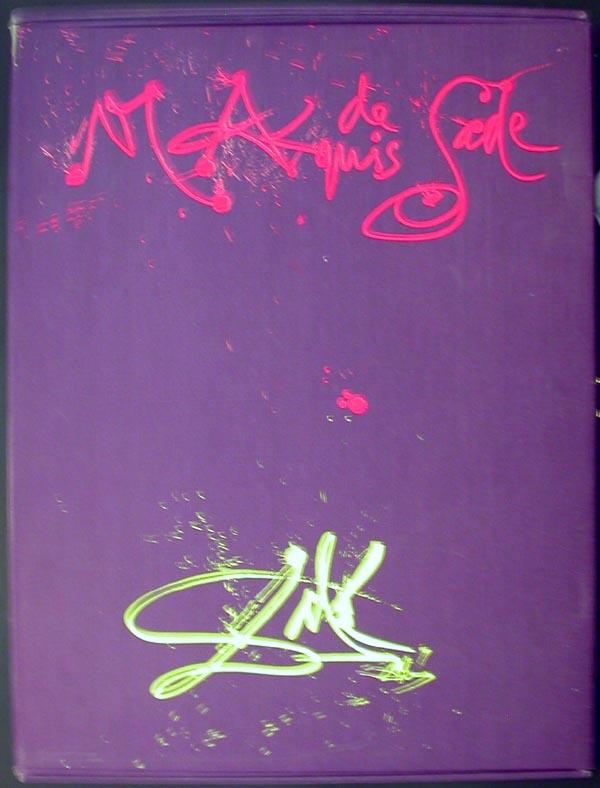 Salvador Dali - Marquis de Sade - Portfolio Cover