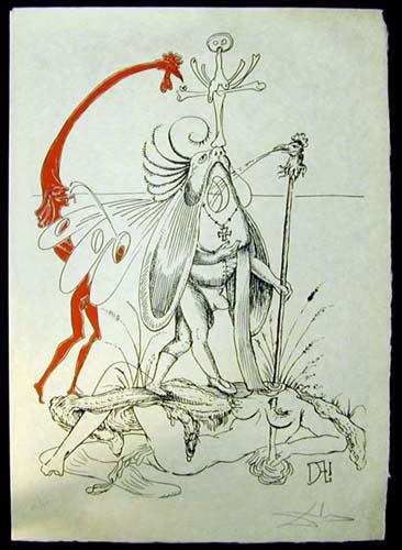 Salvador Dali - Les Songs (Songes) Drolatiques de Pantagruel - R