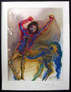 Salvador Dali - Dalinean Horses - Le Centaur de Crete
