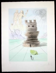 Salvador Dali - Twelve Tribes of Israel - Simon