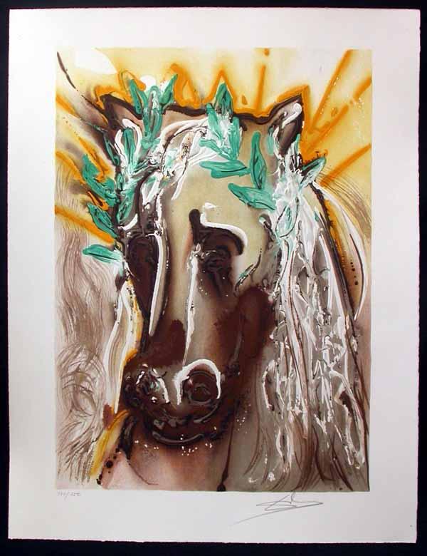 Salvador Dali - Dalinean Horses - Le Cheval du Printemps