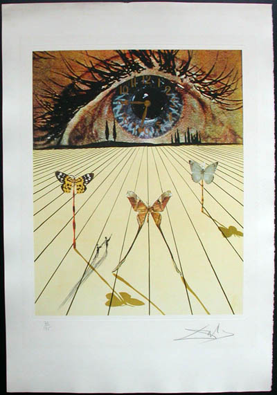 Salvador Dali - Memories of Surrealism Individual Photoliths - The Eye of Surrealist Time