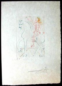 Salvador Dali - Femmes et Chevaux - Le Triomphe