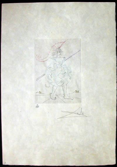 Salvador Dali - Shakespeare II - Troilus and Cressida