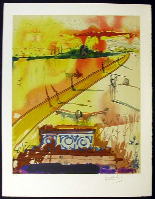 Salvador Dali - Marquis de Sade - The Obsequies for Clorinda