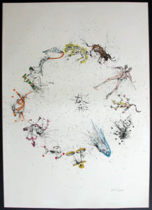 Salvador Dali - Twelve Signs of the Zodiac - Zodiac