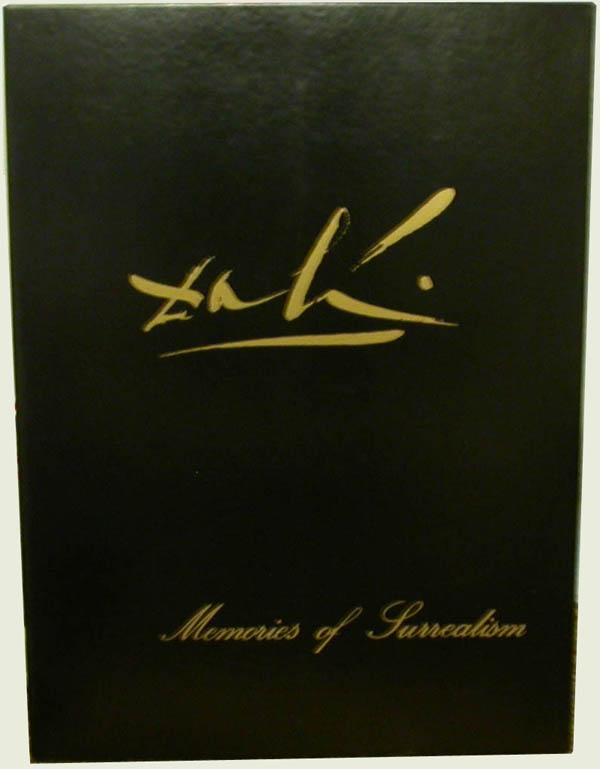 Salvador Dali - Memories of Surrealism Individual Photoliths - Portfolio Case