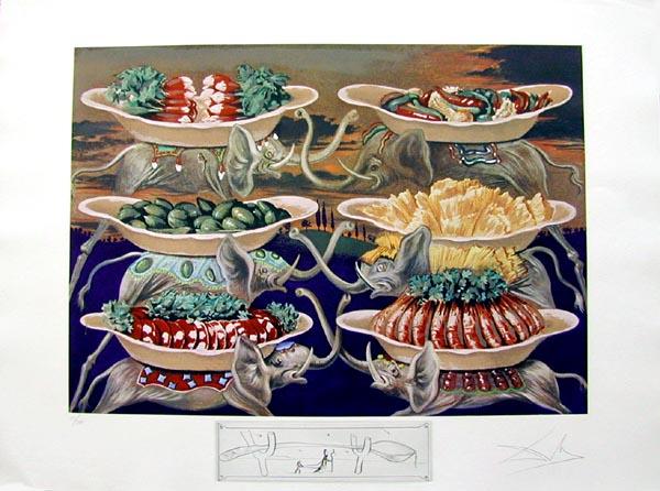 Salvador Dali - Les Diners de Gala - Little Martyr Delights