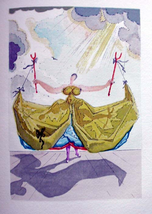 Salvador Dali - Le Tricorne - Etching #11