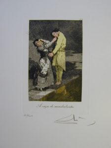Salvador Dali - Les Caprices de Goya - 12.jpg