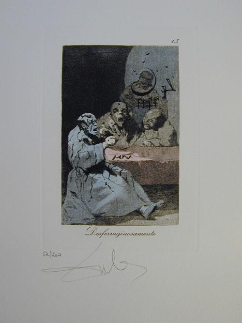 Salvador Dali - Les Caprices de Goya - 13.jpg