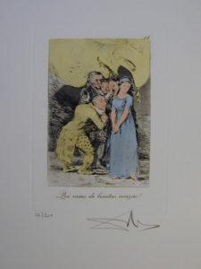 Salvador Dali - Les Caprices de Goya - 14.jpg