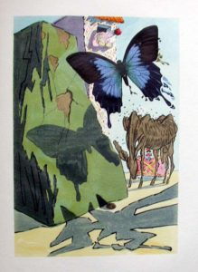 Salvador Dali - Le Tricorne - Etching #15