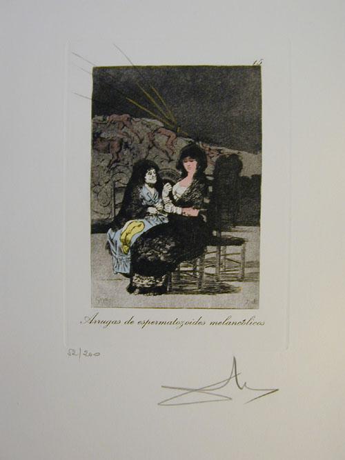 Salvador Dali - Les Caprices de Goya - 15.jpg