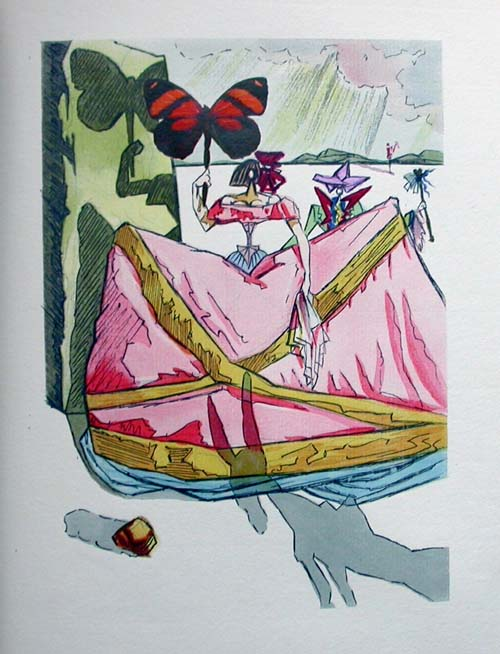 Salvador Dali - Le Tricorne - Etching #16