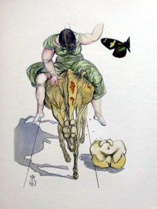Salvador Dali - Le Tricorne - Etching #19