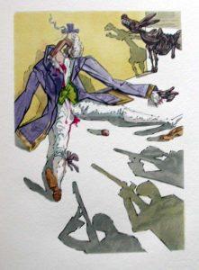 Salvador Dali - Le Tricorne - Etching #2