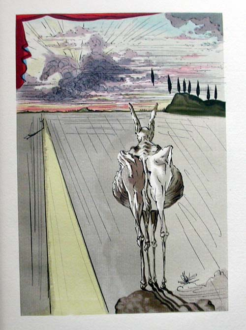 Salvador Dali - Le Tricorne - Etching #3