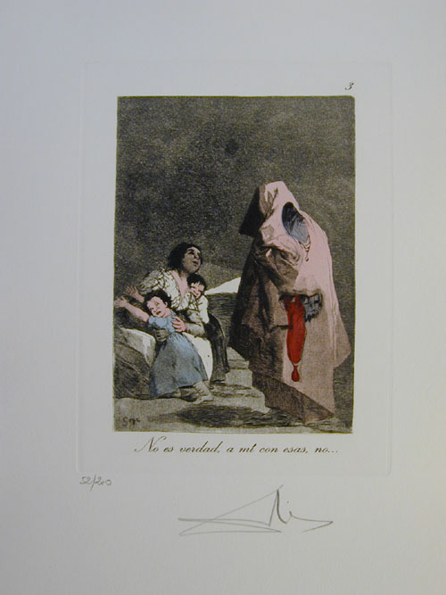 Salvador Dali - Les Caprices de Goya - 3.jpg
