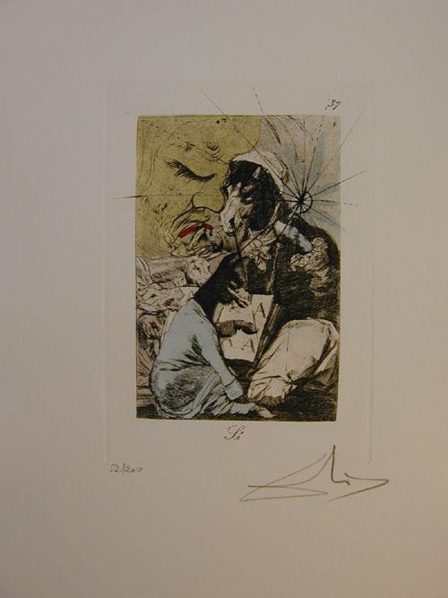 Salvador Dali - Les Caprices de Goya - 37.jpg
