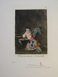 Salvador Dali - Les Caprices de Goya - 4-1.jpg