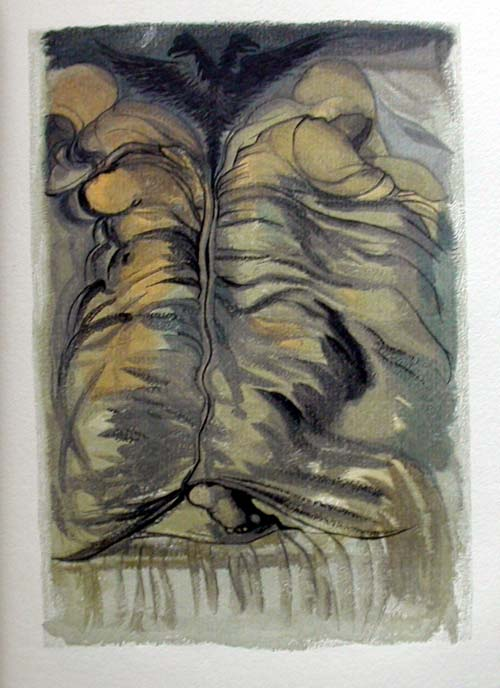 Salvador Dali - Le Tricorne - Etching #4