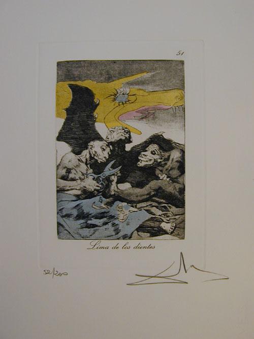 Salvador Dali - Les Caprices de Goya - 51.jpg