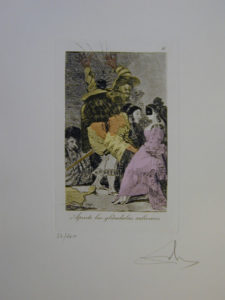 Salvador Dali - Les Caprices de Goya - 6.jpg