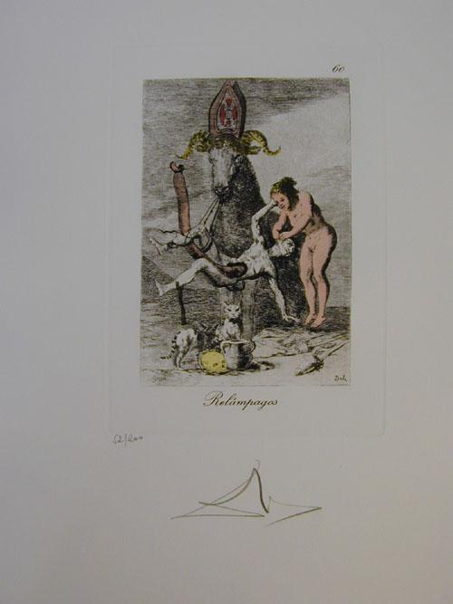 Salvador Dali - Les Caprices de Goya - 60.jpg