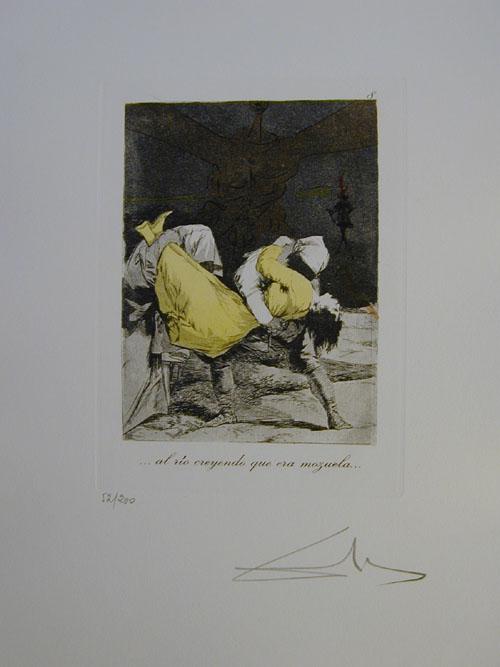 Salvador Dali - Les Caprices de Goya - 8.jpg