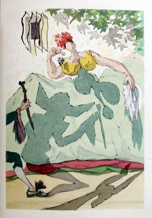 Salvador Dali - Le Tricorne - Etching #9