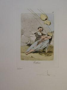 Salvador Dali - Les Caprices de Goya - 9.jpg