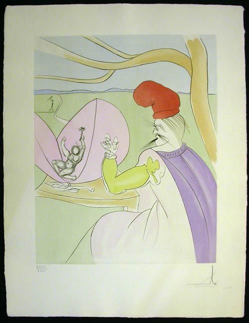 Salvador Dali - Japanese Fairy Tales - Momotaro