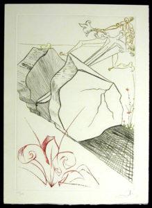 Salvador Dali - La Quete du Graal - The Marvellous Steps