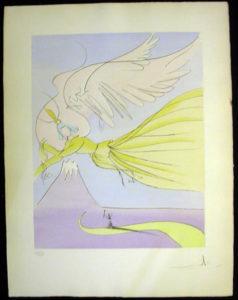 Salvador Dali - Japanese Fairy Tales - Hagoromo