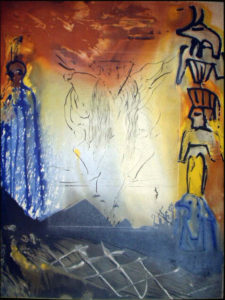Salvador Dali - Moise et Monotheisme - Nightmare of Moses