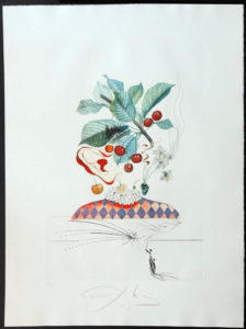 Salvador Dali - FlorDali (Les Fruits) - FlorDali Cherries