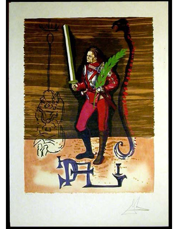 Salvador Dali - Dali Discovers America - Christopher Columbus