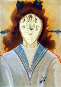 Salvador Dali - Alchimie des Philosophes - Immortality
