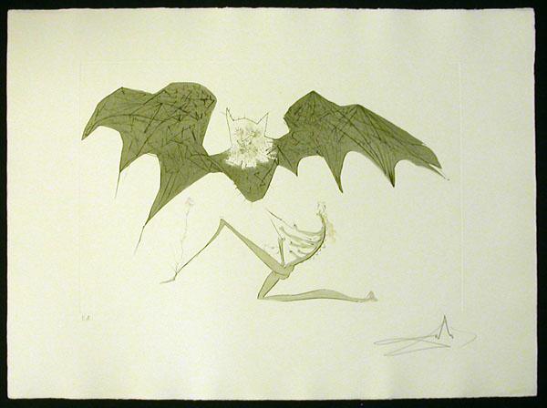 Salvador Dali - Aurelia - L'ange de la Melancolie