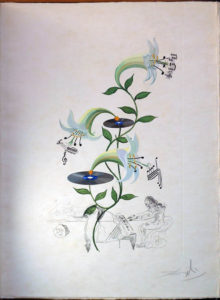 Salvador Dali - Flora Dalinae (FlorDali) - Lilium Musicum (Lily)