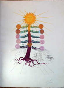 Salvador Dali - Flora Dalinae (FlorDali) - Luna Geminata(Moon)