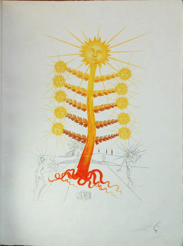 Salvador Dali - Flora Dalinae (FlorDali) - Helianthus Solifer(Soleil, Sun)