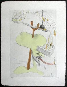 Salvador Dali - Japanese Fairy Tales - Rokujiso