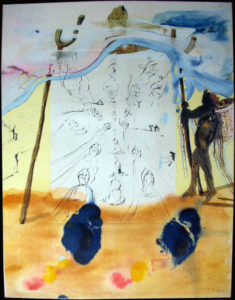 Salvador Dali - Moise et Monotheisme - Transfer of Traditions