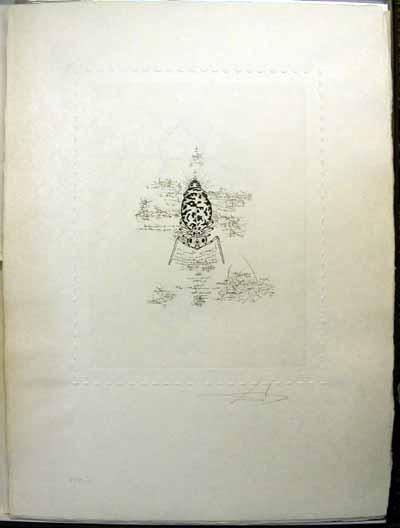 Salvador Dali - Dix Recettes d'Immortalite - Immortalite de l'imperialisme genetique