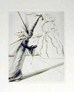Salvador Dali - Faust - L'illusioniste