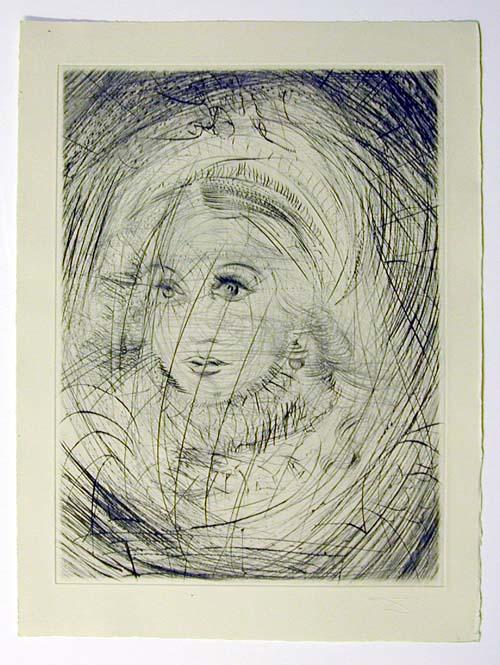 Salvador Dali - Faust - Marguerite